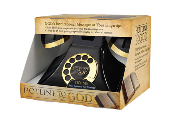Hotline to God phone